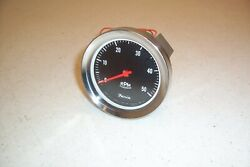 Vintage 1960and039s 1970and039s Faria 5k Tach Tachometer Ford Gm Mopar Marine Vw Original
