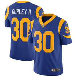 Brand New Nfl Todd Gurley Ii Los Angeles Rams Nike Vapor Limited Jersey Nwt 30
