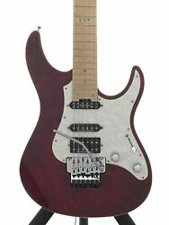 Esp E-ii St-1 Used Made In 2013-2014 Duncan Pu Floyd Rose Quilt Maple