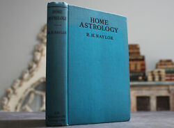 Rare Antique Old Book Astrology 1935 Illustrated Occult Dreams Omens + More
