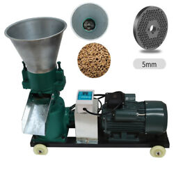 Pellet Mill Machine Powered Pellet Mill Making With Strong Motor 220v 5mm Sale