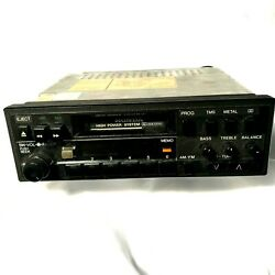 80and039s Vintage Honda Oem Car Stereo 39100-se0-a300-m1 Civic Prelude.