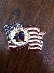 Colorized New York Quarter Pin Featuring The Statue Of Liberty