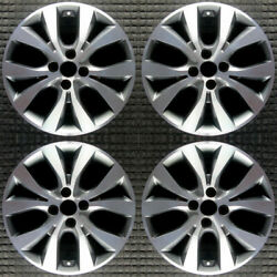 Hyundai Accent With Tpms 16 Oem Wheel Set 2015 To 2017