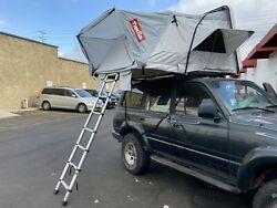 Takao Xl White Hardshell Roof Top Camp Tent For Cars Trucks Suvs Jeep 4-5 Person