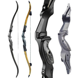60 Ilf Recurve Bow 30-60lbs Takedown 17 Riser Archery American Hunting Bow