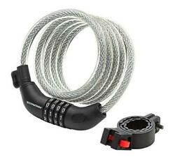Anti Theft Bike Lock, 6 Foot/12mm Cable Security Level 3/combination Lock