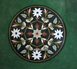 30 Inches Marble Kitchen Table Top Peitra Dura Art Coffee Table From Vintage Art