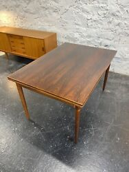 Mid Century Danish Modern Dining Table By Niels Moller