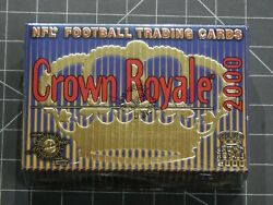 2000 Pacific Crown Royale Football Card Hobby Box Nfl 24ct Possible Tom Brady Rc
