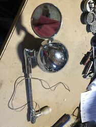 Vintage Perfection Model J Spotlight Sealed Beam With Mirror