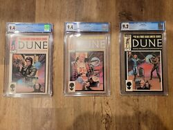 Make An Offer Rare Dune Comic Collection 1985 Cgc 9.4, 9.4, 9.2 Movie 10/1/21