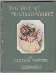 The Tale Of Mrs. Tiggy-winkle - Beatrix Potter - 1905 - Frederick Warne And Co.