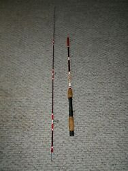 Vintage Garcia Conolon 3631 Light Action Fast Taper 5 1/2andrsquo Spinning Rod
