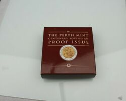 1999 Perth Mint Centenary Sovereign Proof Issue Set
