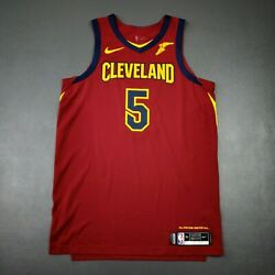 100 Authentic Jr Smith Nike Cavaliers Game Issued Jersey Size 50+4 Xl Mens