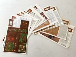 Lot Of 100+ Tandy / Craftool Doodle Page Of The Month Leather Working Sheets