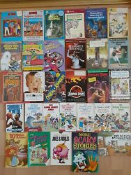 Vintage 90and039s Childrens Book Lot 30 Books Total