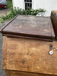 Antique Globe-wernicke Cabinet Top Parts Card Catalog Cabinet