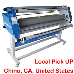 63and039and039 1600mm Cold Laminator 110v 2200w Full Auto Laminating Machine Large Format