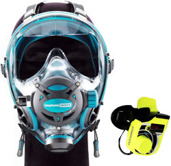 Ocean Reef Neptune Space Gdivers Integrated Full Face Diving Mask W Gsm G Divers