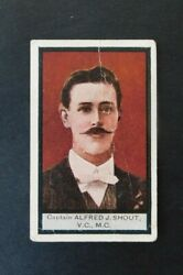 Sniders And Abrahams Australian Vcs And Officers And039cand039 Cigarette Card 1917 Shout