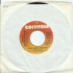 Bruce Springsteententh Avenue Freeze-out/sheand039s The Oneus Columbia1975