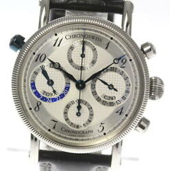 Chronoswiss Dora Chronograph Silver Dial Menand039s Watch_421457