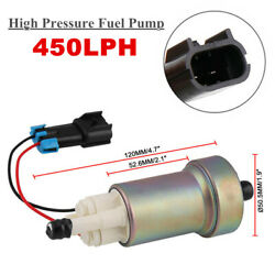 450lph Fp076 Racing High Performance Fuel Pump And Kit F90000267 E85 New Tia485-2