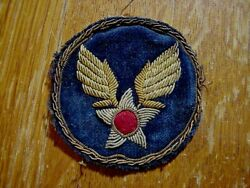 Wwii Us Army Air Corps Cbi Theatre Made Bullion Patch No Glow 1