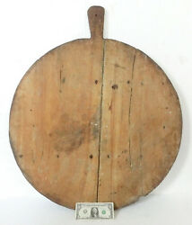 33 Superb Antique French 1800's Bakery Boulangerie Dough Bread Board Pizza Peel