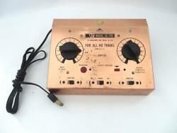HO Vintage Large Dual Control 1 1 2 Amp Power Pack Transformer Excellent By FK