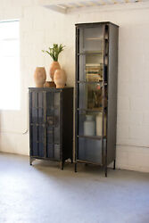 Gwg Outlet Iron And Glass Apothecary Buffet Cll1277