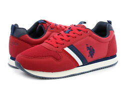 Trainers U.s. Polo Assn. Nobil 183 Nobil4183s1/hy1 Red