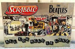 Scrabble The Beatles Edition Collectible Board Game Factory Sealed/rare/mint
