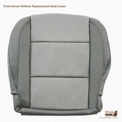 2009 2010 Driver Bottom Leather Seat Cover For Nissan Titan Color 2-tone Gray