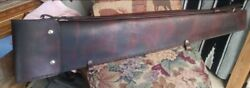 Leather Rifle Case Or Scabbard By Levergun Leather Works. Trapper Rifles