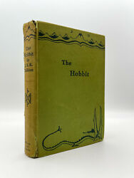 The Hobbit - First Edition - 10th Print 1958 - Tolkien 1937 Lord Of The Rings