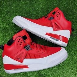 Nike Air Jordan Spizike 2017 Gym Red White Us Size 11 Menand039s New 315371-603