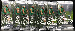 2011 Ace Authentic Match Point 2 Tennis Hobby Pack Lot Of 15pk. Factory Sealed..