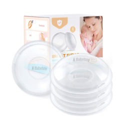 Breast Shells 4 Pack Nursing Cups Milk Saver Protect Sore Nipples For Breastf