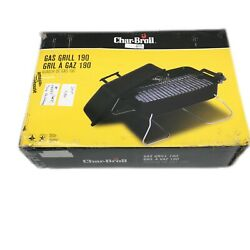 Char Broil 190 Deluxe Liquid Propane Portable Tabletop Gas Grill Tailgating