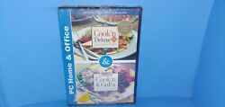 Cook'n Deluxe 6.0 / Bbq Bible Cook'n And Grill'n Cd Rom Windows 2000/nt/me New