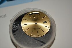 Rolex Day Date President Mens Gold Champagne Stick Dial 36mm 18038