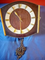 Vintage Linden Weight Driven Wall Clock Germany As Is For Parts W120/54 Cuckoo
