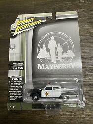 Johnny Lightning Mayberry Andy Griffith Show Squad Car 1/64 Diecast New In Box