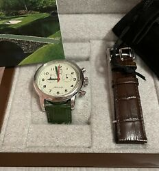 The Masters 2020 Limited Edition Swiss Watch Augusta National 164 Of 700 - Flag