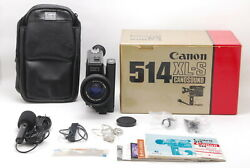 【top Mint+++ 】 Canon Canosound 514xl-s Super 8 8mm Film Movie Camera From Japan