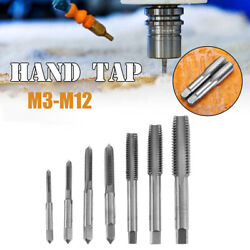 M3-m12 Metric Hss Right Hand Thread Tap Righthand Tap Plug Various Size X3