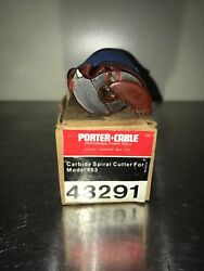 Porter Cable/rockwell 43291 Spiral Carbide Cutter For 653 Versa Plane